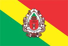 Bandeira da cidade Embu das Artes - SP